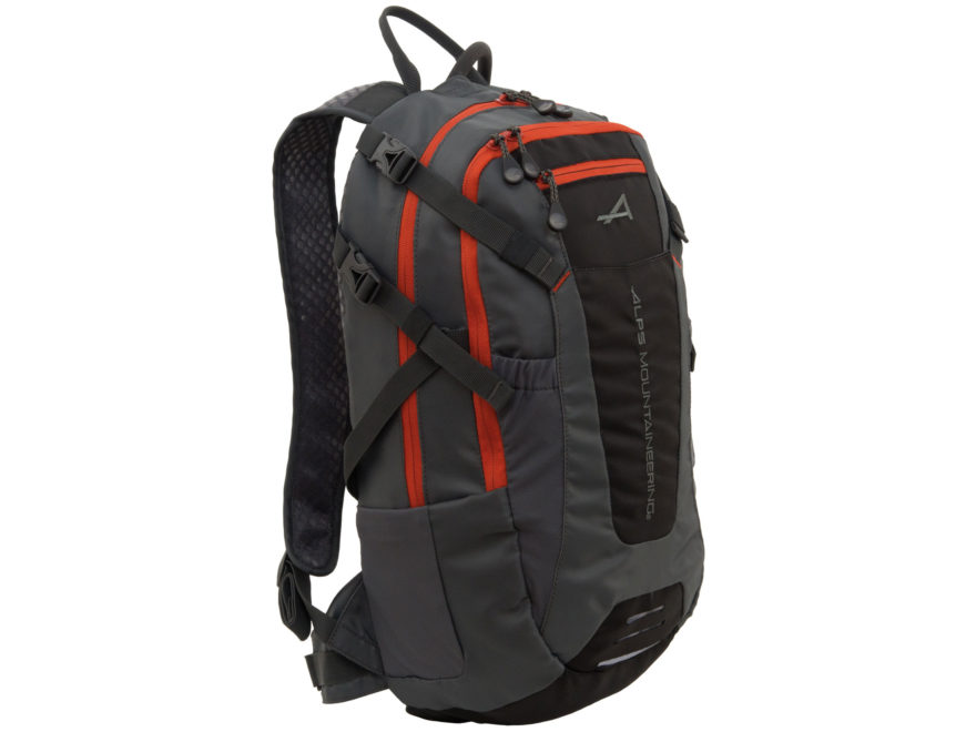 ALPS Mountaineering Hydro Trail 15 Hydration Backpack Black and Orange
