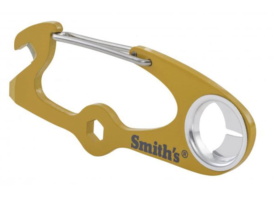 Smith's Pack Pal Clip Tool Multi-Tool Yellow