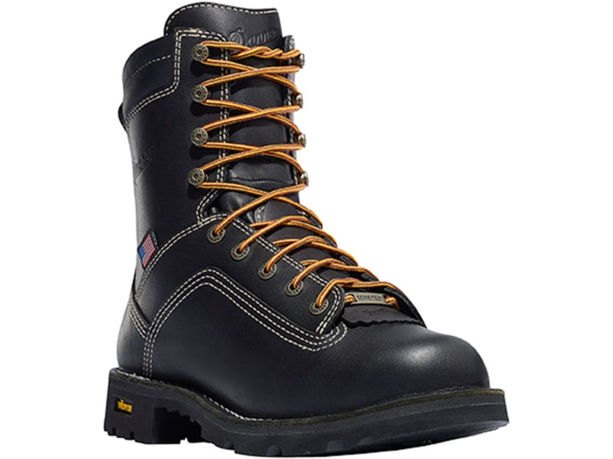 """Danner Quarry USA 8"""" Waterproof GORE-TEX Alloy Safety Toe Work Boots Leather Men's"""
