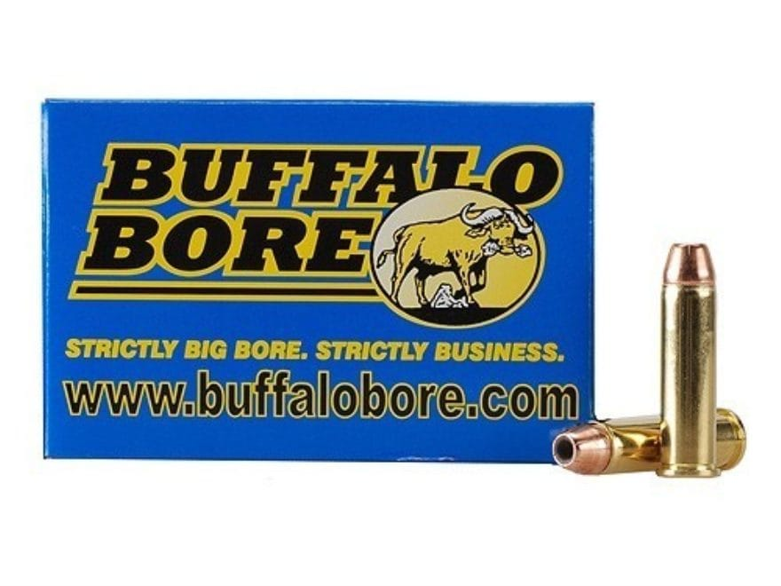 Buffalo Bore Ammunition 357 Magnum 140 Grain Jacketed Hollow Point Box of 20
