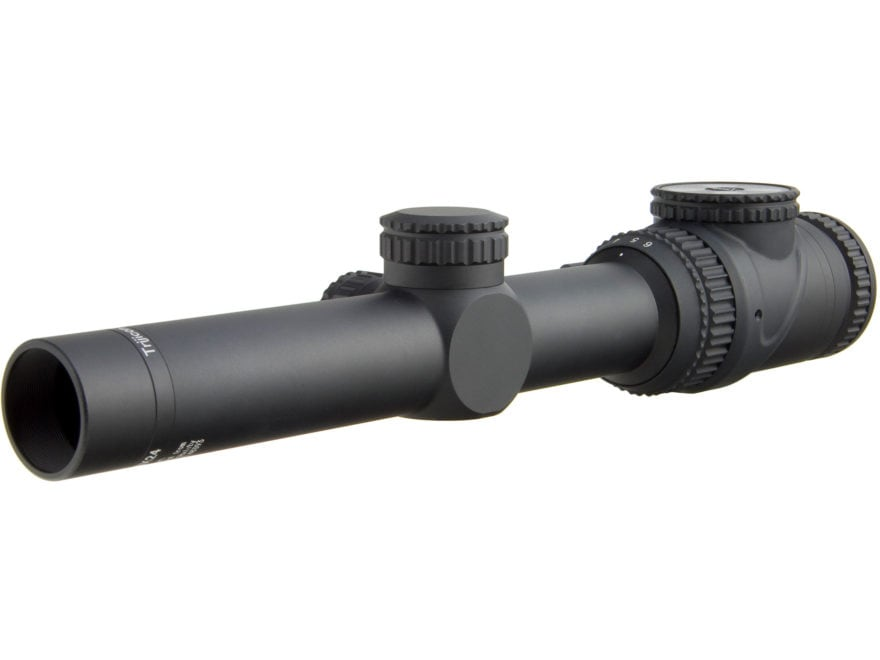 Trijicon AccuPoint Rifle Scope 30mm Tube 1-6x 24mm Illuminated Matte