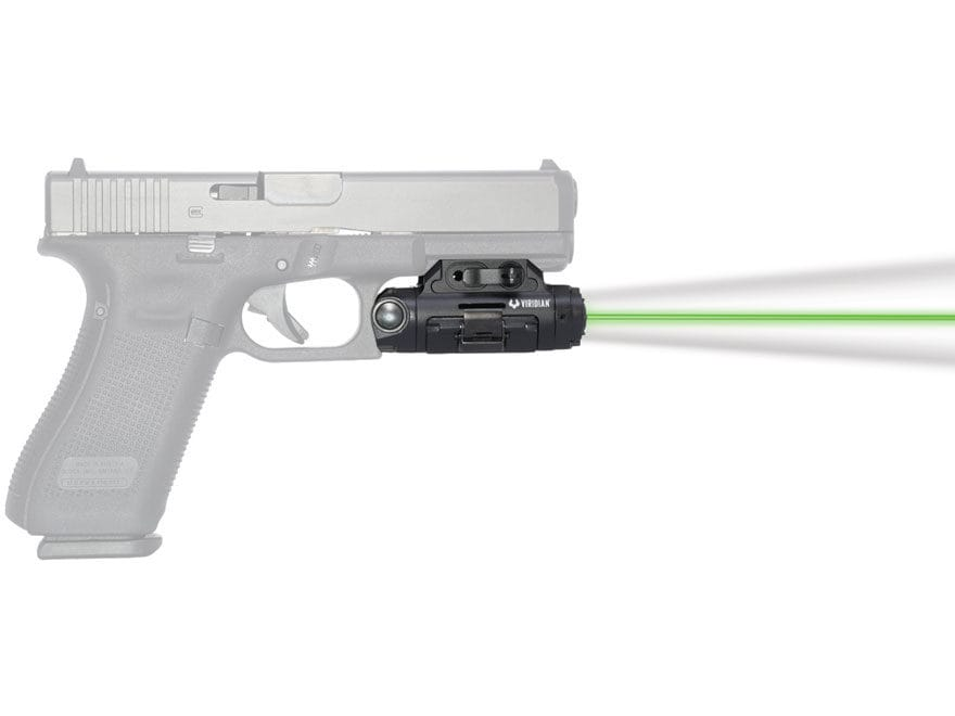 Viridian X5L Gen 3 Weapon Light 500 Lumen with Laser Sight with Rechargeable Battery Un...