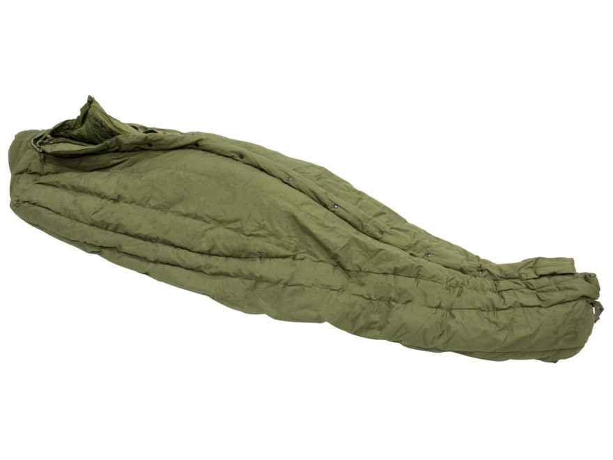 Military Surplus Extreme Cold Weather Sleeping Bag Grade 3 Olive Drab
