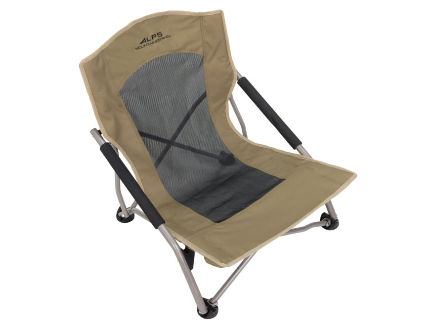 Alps Mountaineering Rendezvous Low-Profile Folding Chair Steel and Polyester