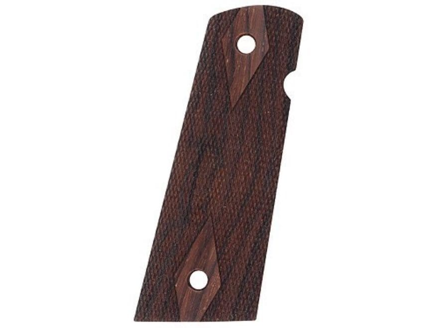 Hogue Fancy Hardwood Grips 1911 Government, Commander with Extended Magazine Well Check...