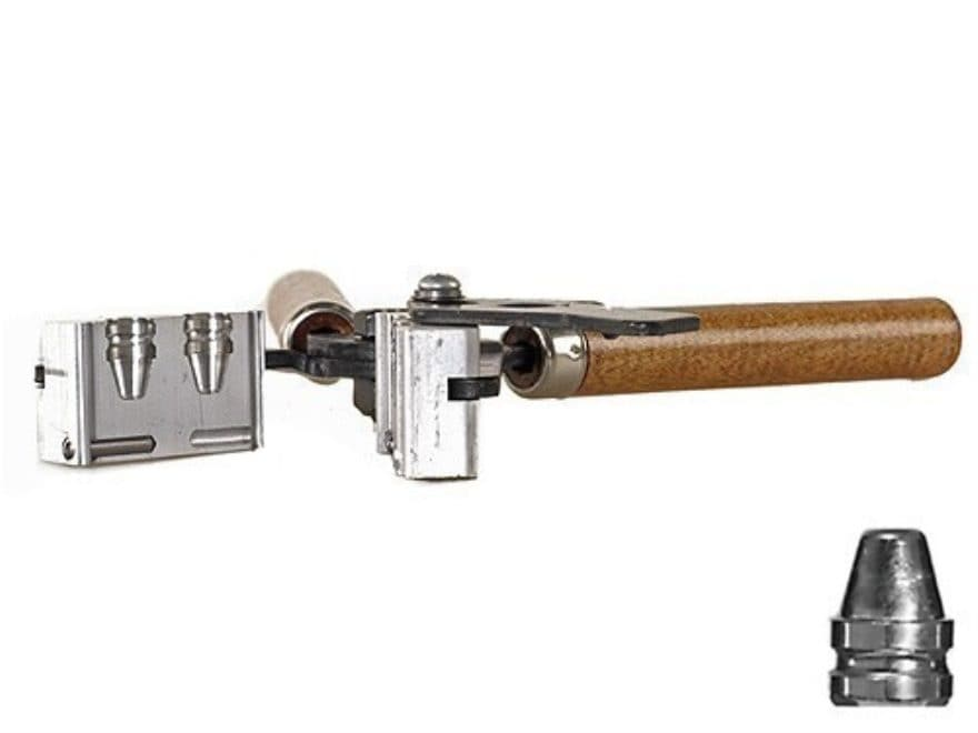Lee 2-Cavity Bullet Mold 452-200-SWC 45 ACP, 45 Auto Rim, 45 Colt (Long Colt) (452 Diam...