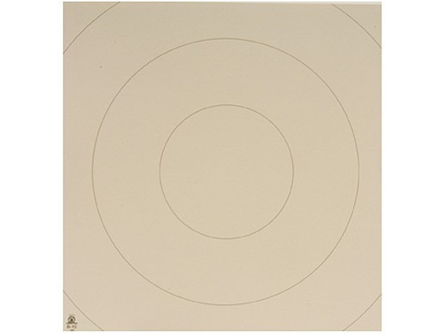 NRA Official Action Pistol Targets Repair Center D-1C 10, 15, 20, 25, 35 Yard Bianchi C...