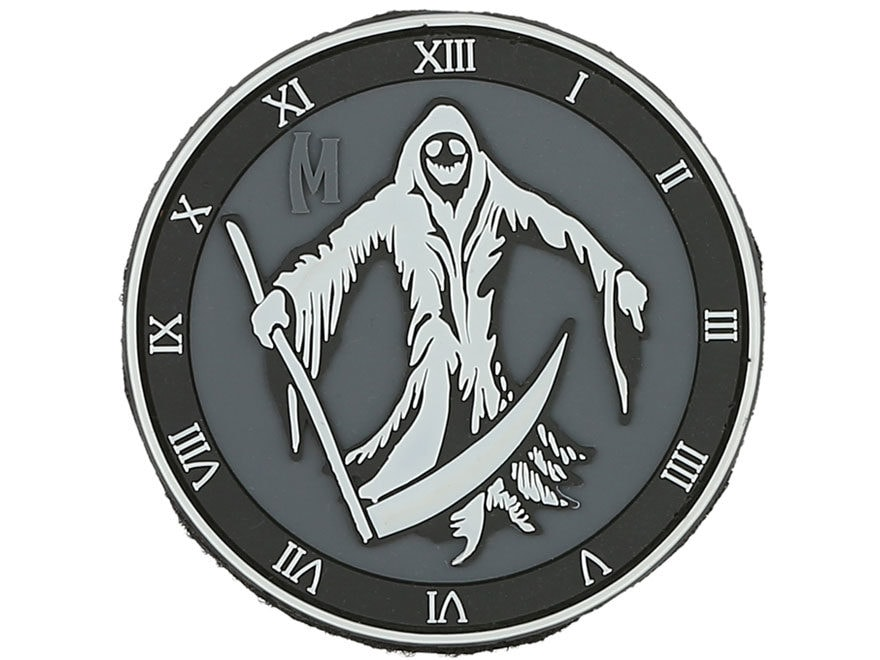 "Maxpedition Reaper PVC Morale Patch 3"" x 3"""