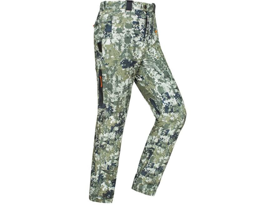 838a3b6882e6e Plythal Men's Scrapeline 1.0 Lightweight Scent Control Pants Polyester  Digital Forest Camo