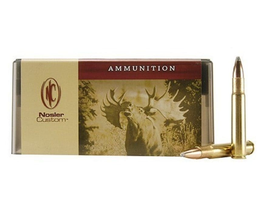 Nosler Custom Ammunition 35 Whelen 250 Grain Partition Spitzer Box of 20