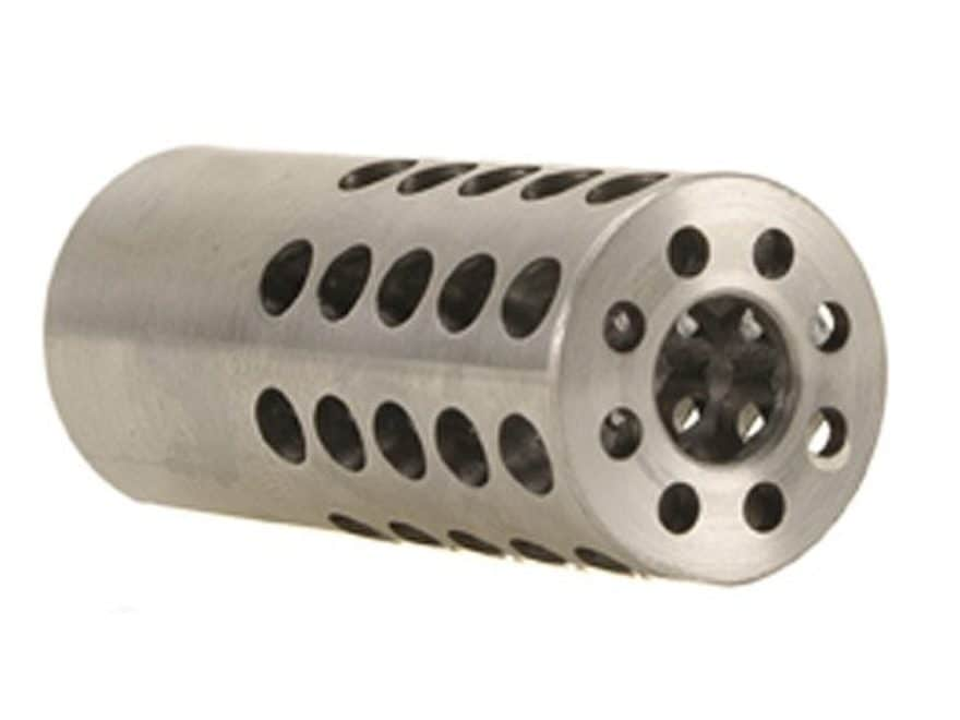 "Vais Muzzle Brake Micro 284 Caliber, 7mm 1/2""-32 Thread .750"" Outside Diameter x 1.750""..."