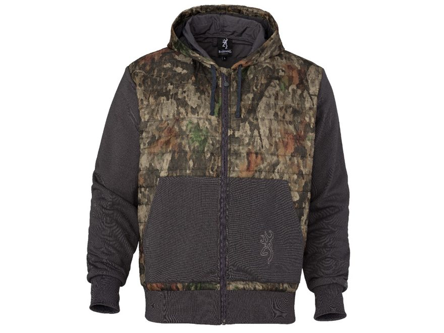 Browning Men's Hell's Canyon Speed Contact-VS Full-Zip Hoodie Polyester