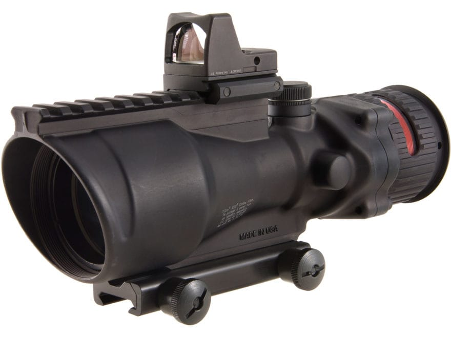 Trijicon ACOG Rifle Scope 6x 48mm Dual-Illuminated with 6.5 MOA RMR Type 2 Red Dot Sigh...