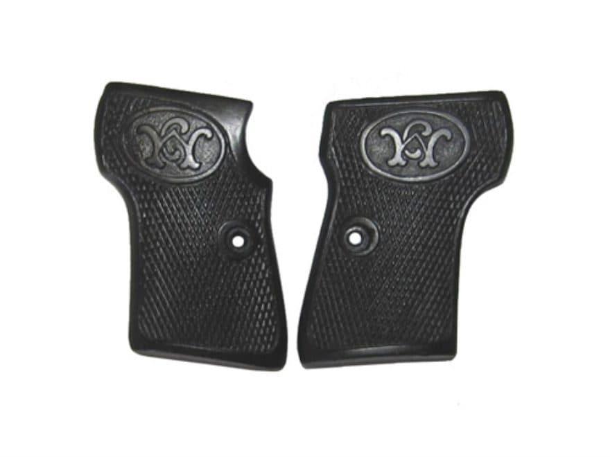 Vintage Gun Grips Walther #2-5 Transition 25 ACP Polymer Black