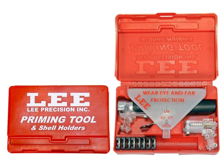 Lee New Auto Prime Hand Priming Tool Kit