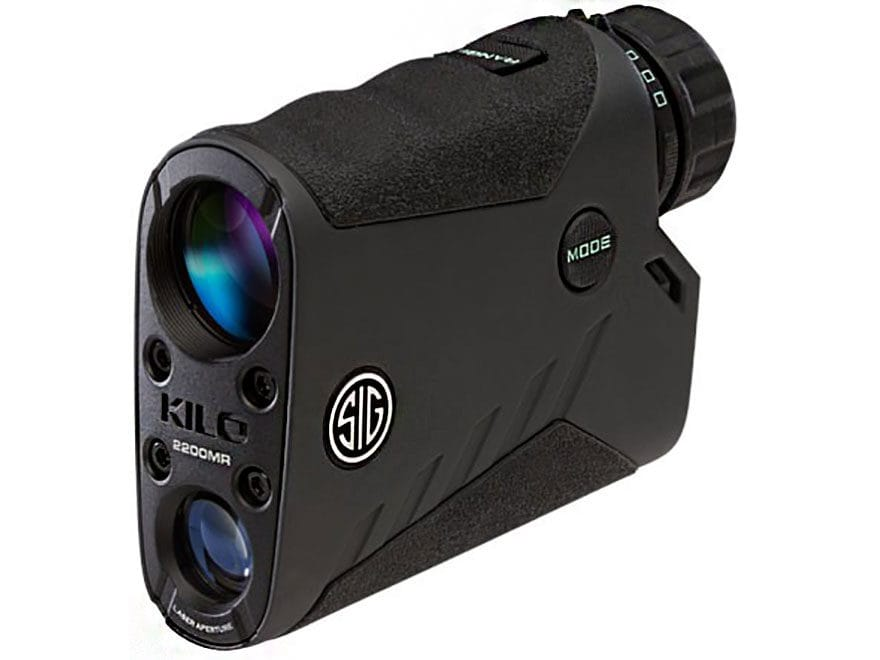 Sig Sauer KILO2200MR Laser Rangefinder 7x 25mm with Milling Reticle Graphite