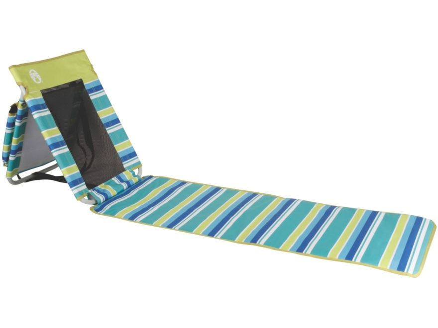 Coleman Utopia Breeze Beach Mat Polyester and Steel