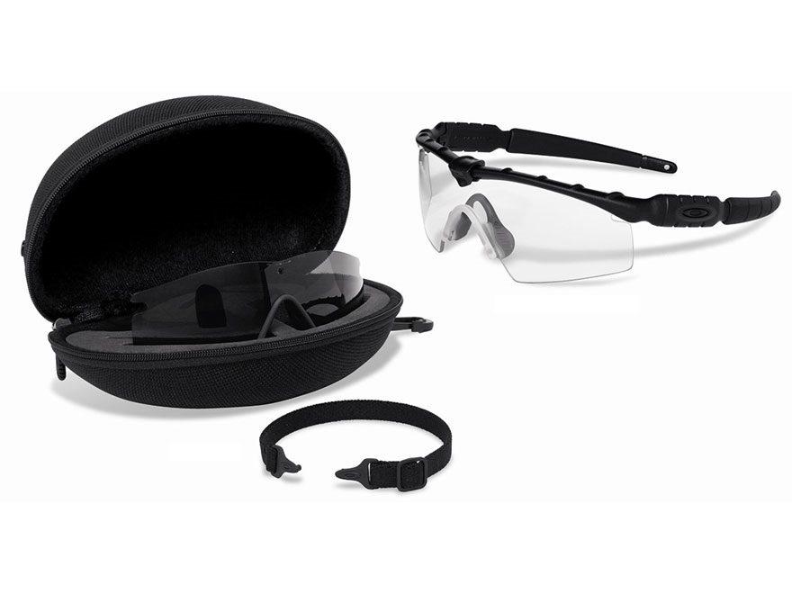 6824ec2a77 Oakley SI Ballistic M-Frame 2.0 Shooting Glasses Black Frame Gray   Clear  Lens