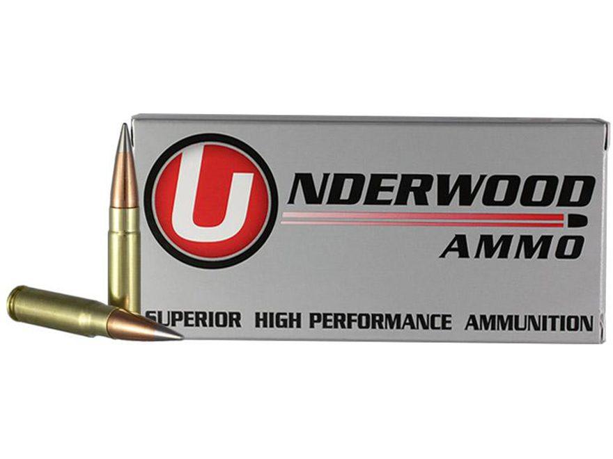 Underwood Ammunition 300 AAC Blackout 111 Grain Lehigh Match Grade Solid Flash Tip Lead...