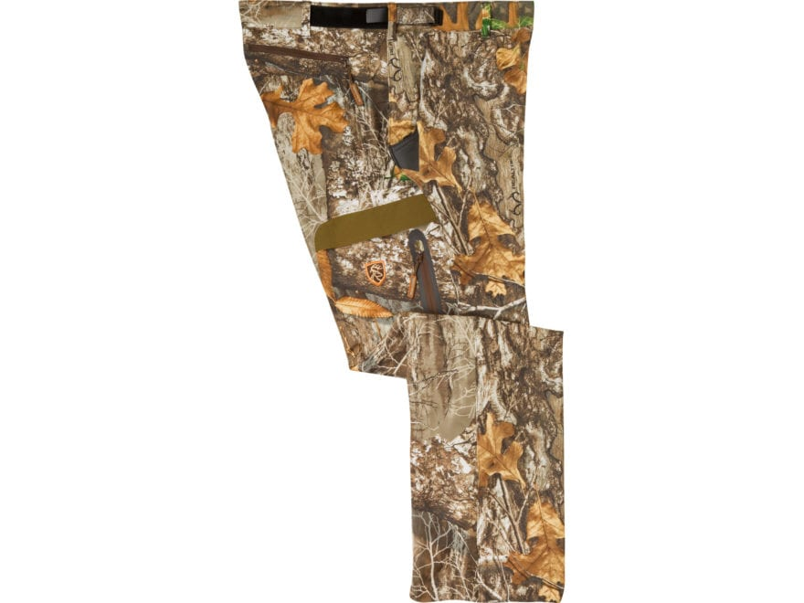 Drake Non-Typical Men's Lightweight Scent Control Camo Tech Pants Polyester