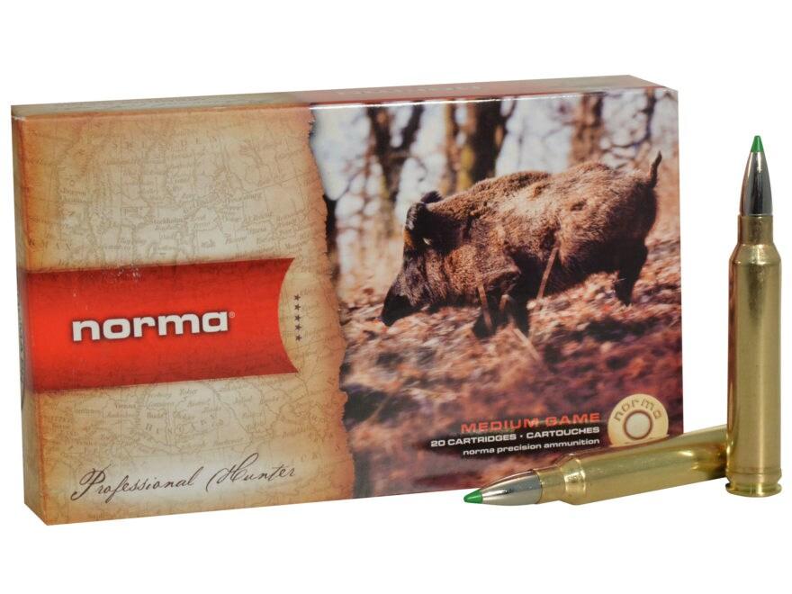 Norma USA American PH Ecostrike Ammunition 7mm Remington Magnum 140 Grain Tipped Boat T...