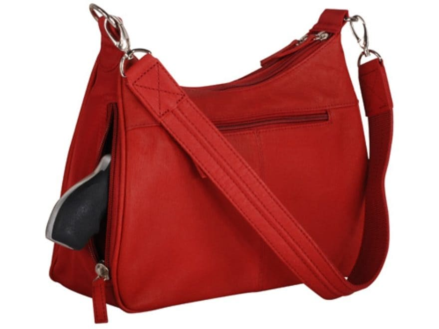 Gun Tote'N Mamas Basic Hobo Concealed Carry Holster Purse Small Frame Firearms Leather