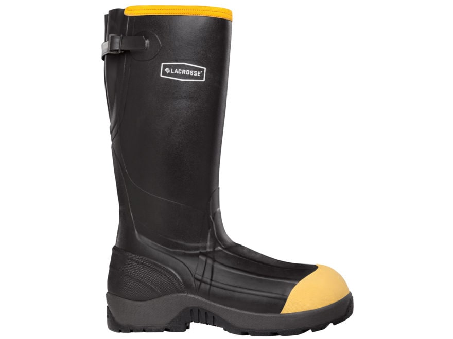 "LaCrosse Alpha Aggressive 16"" Waterproof 800 Insulated Non-Metallic Safety Toe Work Boo..."