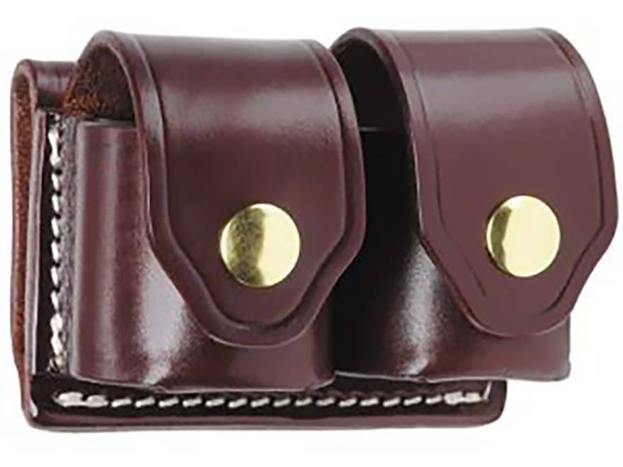 Triple K 103 Double Speedloader Pouch Walnut Oil