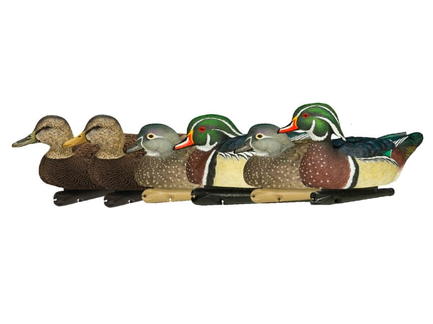 Avian-X Atlantic Flyway Combo Pack Duck Decoy Pack of 6