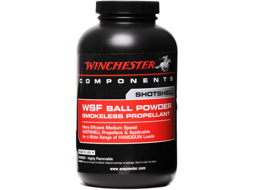 Winchester WSF Smokeless Gun Powder