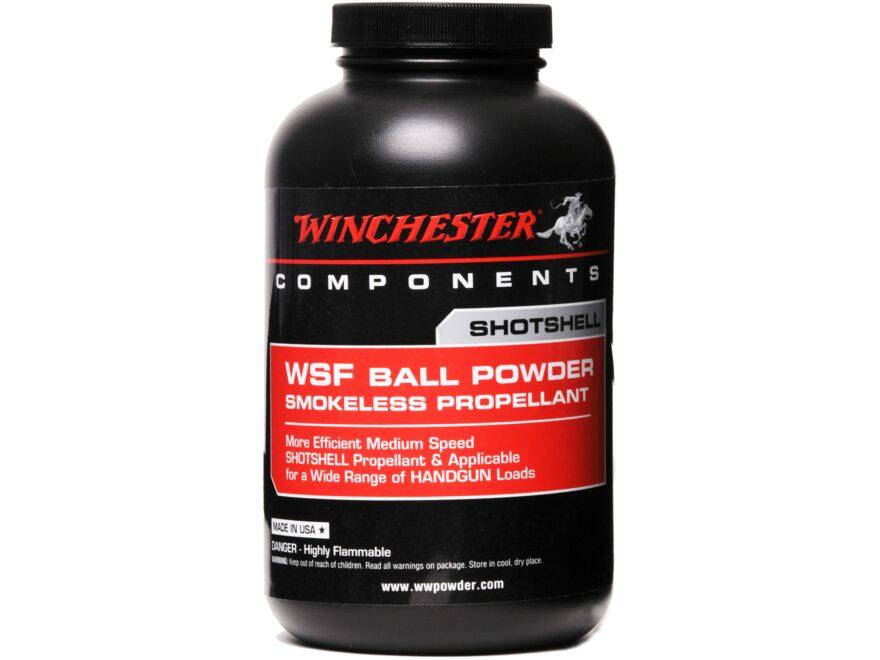 Winchester WSF Smokeless Gun Powder