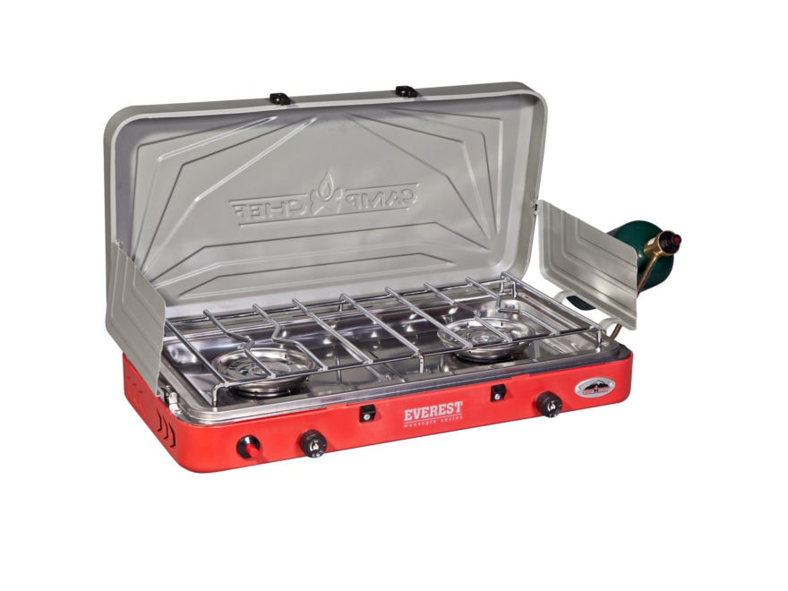 Camp Chef Mountain Series Everest High Pressure 2-Burner Camp Stove