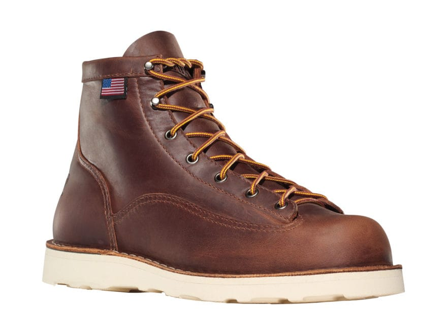 "Danner Bull Run 6"" Work Boots Leather Men's"