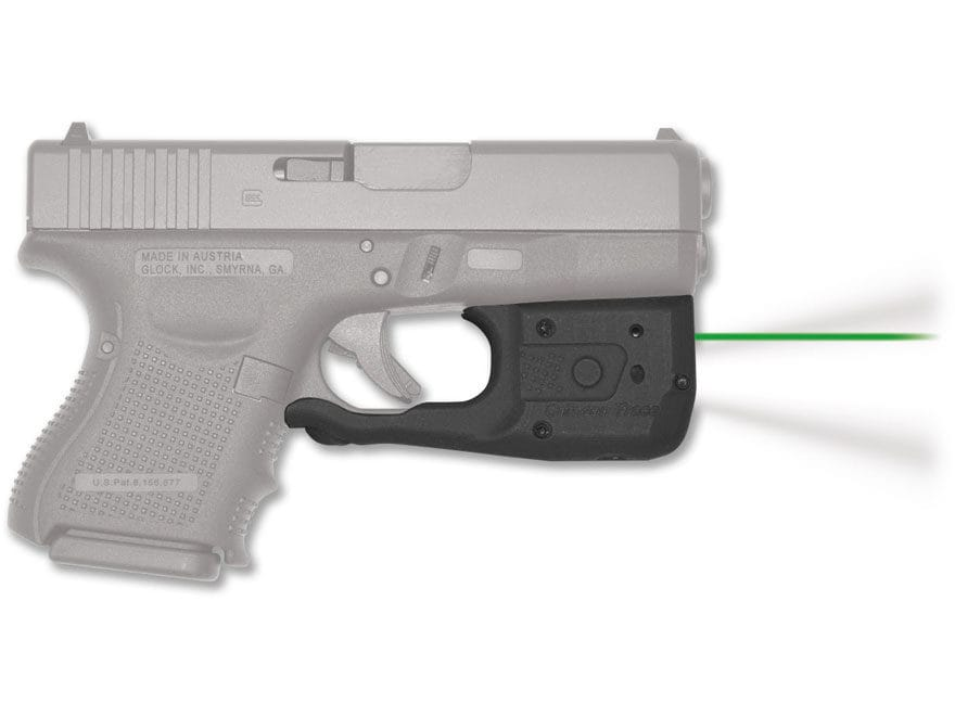 Crimson Trace Laserguard Pro Weapon Light White LED with Laser Sight Black