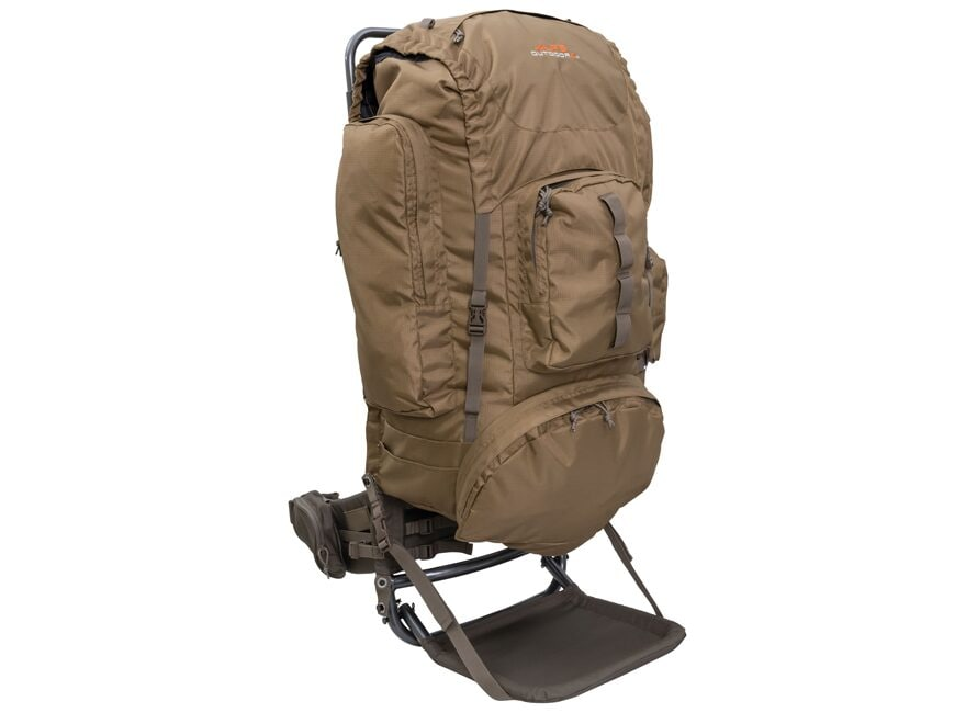 ALPS Outdoorz Commander Frame + Pack Bag Backpack Tan