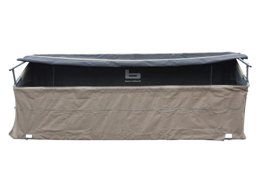Banded Axe Combination Boat/Shore Blind Steel and Polyester Khaki