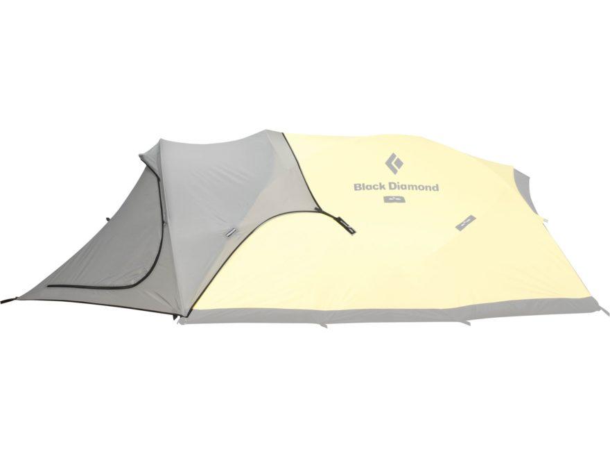 Black Diamond Equipment Fitzroy Tent Vestibule SilPoly Fabric Gray