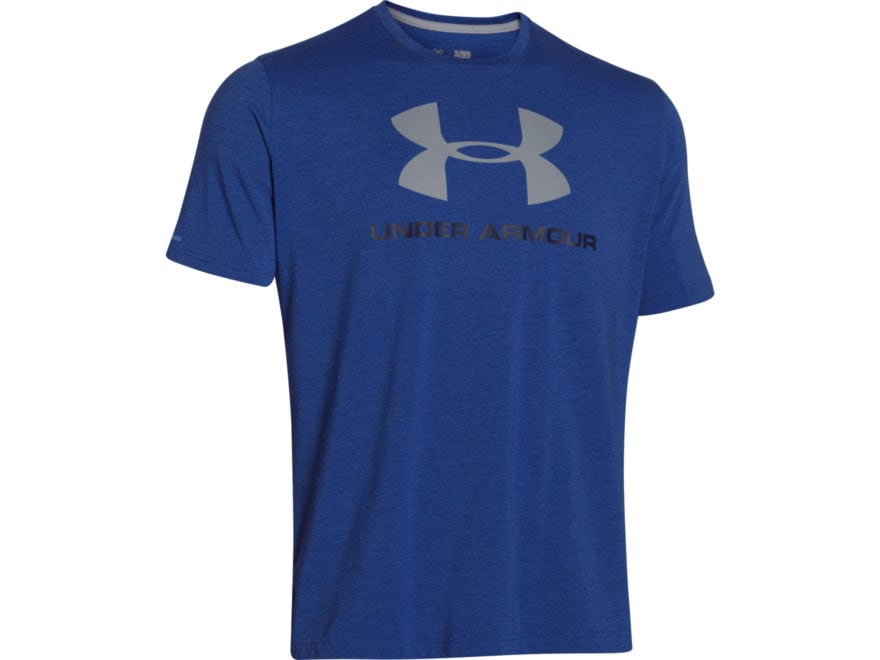 Under Armour Men's UA CC Sportstyle Logo T-Shirt Short Sleeve Charged Cotton