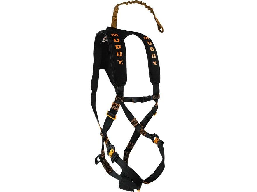 Muddy Outdoors The Diamondback Treestand Safety Harness Nylon Black