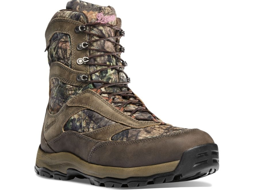 """Danner High Ground 8"""" Waterproof Hunting Boots Leather and Nylon Women's"""