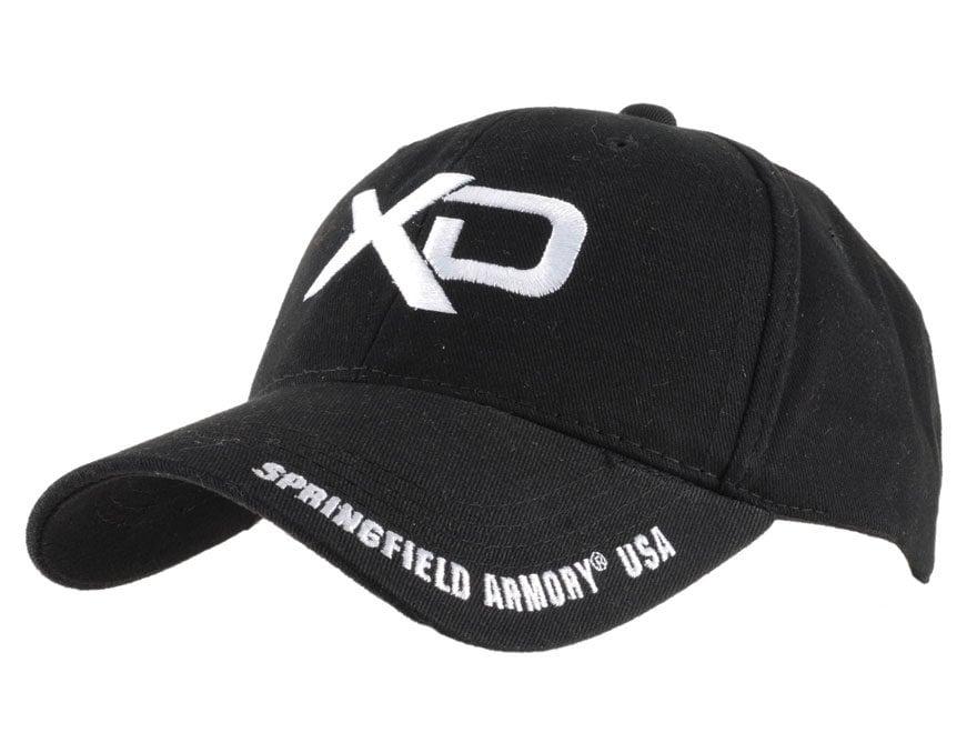 Springfield Armory XD Cap Cotton Black