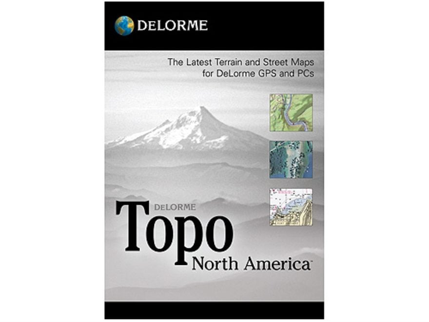 DeLorme Topo North America 9.0 GPS Mapping Earthmate GPS on