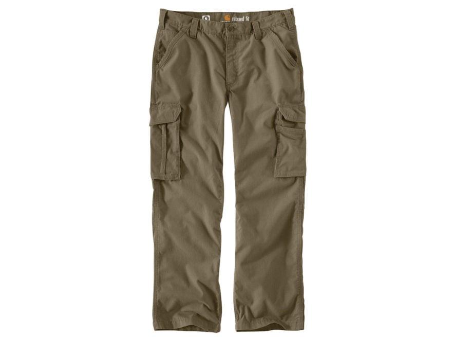 8ef3c8db Carhartt Men's Force Tappen Cargo Pants Cotton Gravel 31 Waist 34