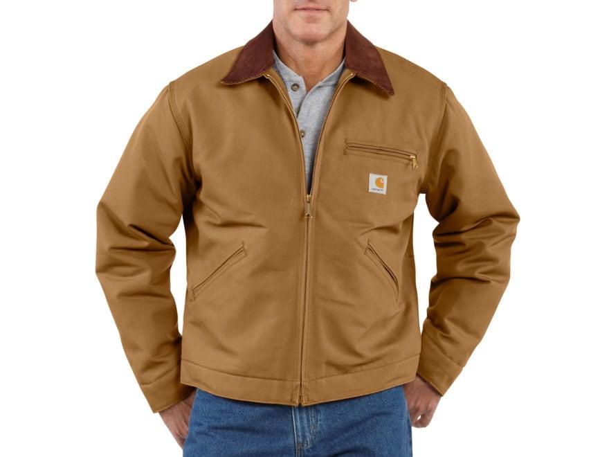 Carhartt Men's Duck Detroit Blanket-Lined Jacket Cotton