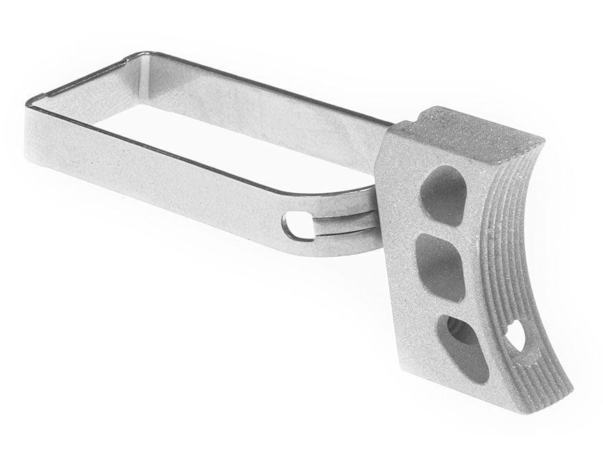 Nighthawk Custom Match Trigger 1911 Aluminum Silver