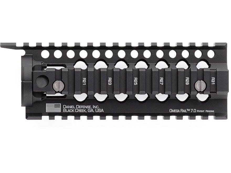Daniel Defense Omega Free Float Handguard Quad Rail AR-15 Aluminum Black