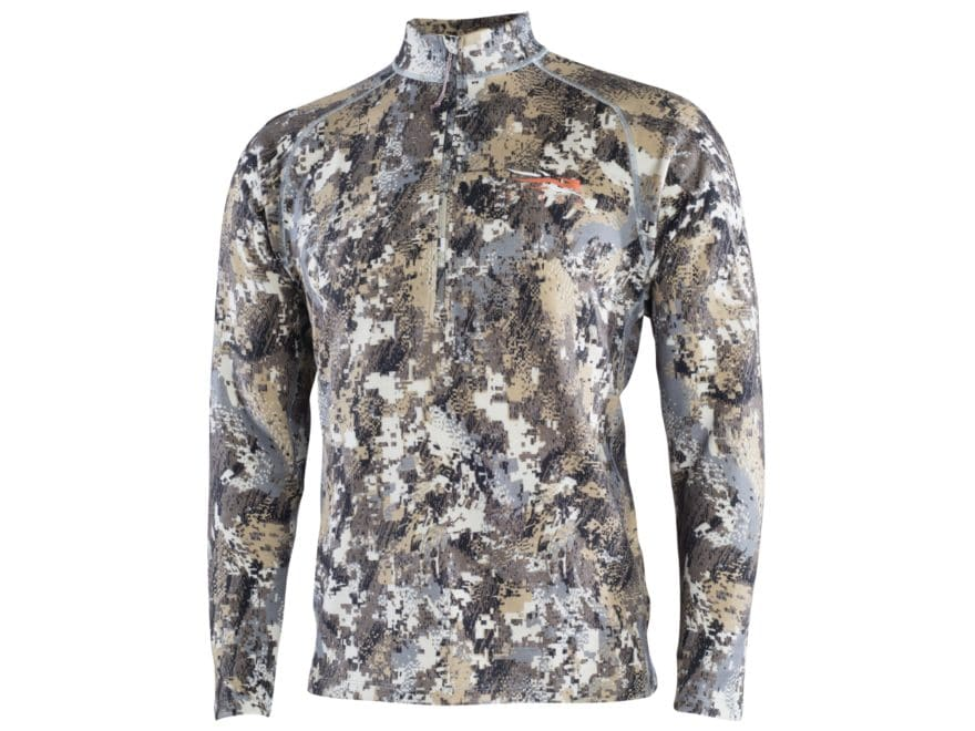 Sitka Gear Men's Core Lightweight 1/2 Zip Base Layer Long Sleeve Shirt Merino Wool