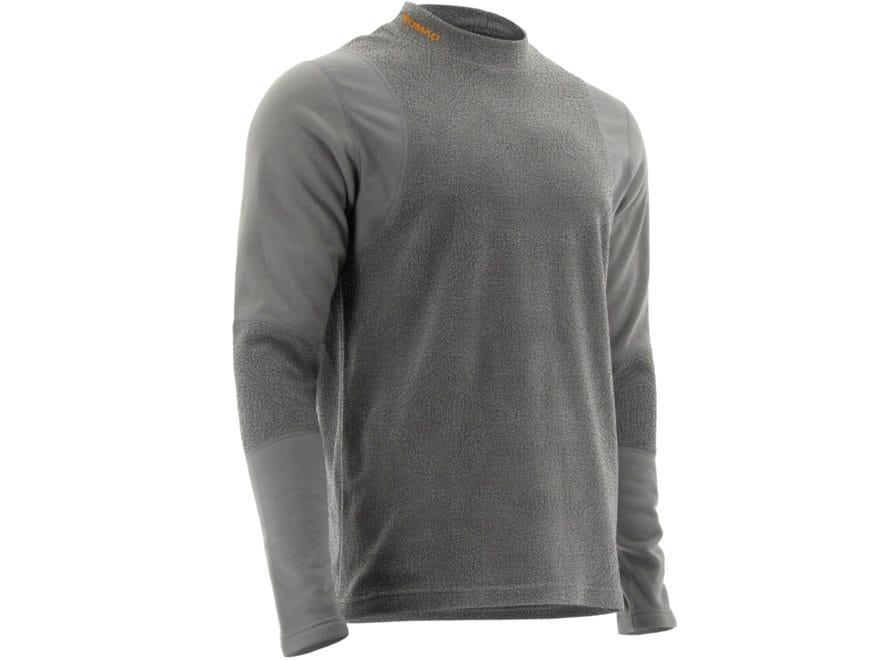 Nomad Men's Cottonwood Scent Control Base Layer Crew Long Sleeve Shirt