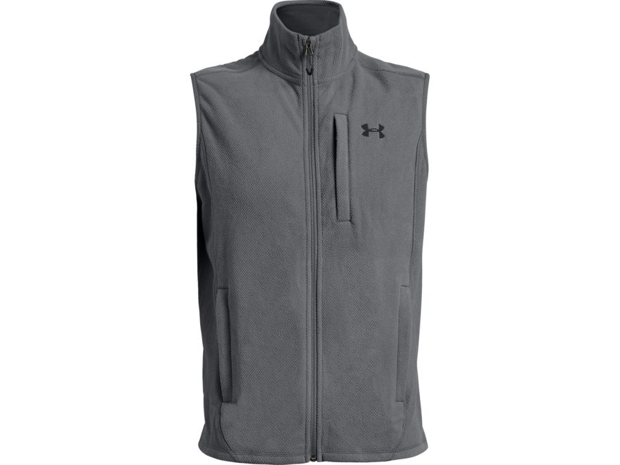 Under Armour Men's UA Offgrid Fleece Solid Vest Polyester