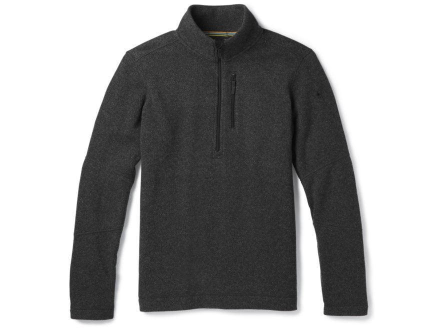 Smartwool Men's Hudson Trail Fleece Half Zip Sweater Polyester/Wool